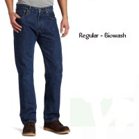 Ispro Random Celana Jeans Pria Regular Fit BioWash - BiruTua