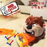 mainan unik anjing galak/bad dog game beware of the dog/lucky game