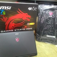 Jual MSI GP62-7RD-492XID LEOPARD Ci7-7700HQ/8GB/1TB+256GB SSD/GTX1050 4GB Murah