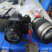 Kamera Ricoh KR5 Lensa Tele 28 210 Vitacon Saphire