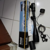 Jual Teropong Senapan Riflescope Tele Bushnell SunShade 6-24x50 AOEG Murah