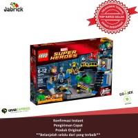LEGO # 76018 SUPER HEROES - MARVEL_HULK LAB SMASH
