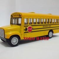 Diecast Miniatur Bus Sekolah