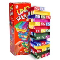 UNO STACKO JENGA Family Game / Board Games