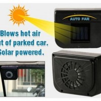 Auto Fan As Seen TV Kipas Otomatis Tenaga Surya Untuk Mobil