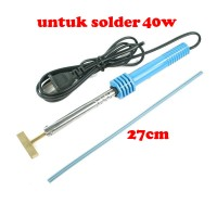 (untuk solder 40w=5mm)Mata solder Model Tips T for lcd screen flex