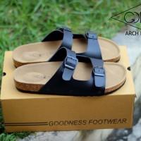 sandal goodness birkenstock casual pria 2 warna