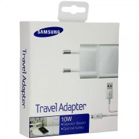 Samsung Asli Travel Charger Adapter 10W + Micro kabel USB - Putih