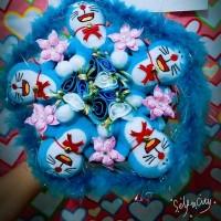 Jual Buket Boneka Doraemon Murah