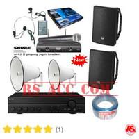 Paket Sound System TOA ZS 1030 + TOA ZH 625