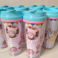 tumbler custom souvenir kado ulang tahun reuni & promosi