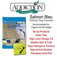 ADDICTION SALMON BLEU 1,8KG DOG FOOD MAKANAN ANJING PET FOOD DRY FOOD