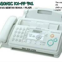 MESIN FAX PLAIN PAPER PANASONIC KX FP 701