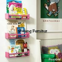 Rak Dinding Minimalis / Floating shelf. 1 set (3pcs)