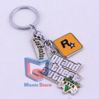 Keychain / Gantungan Kunci - Grand Theft Auto GTA V [Game]