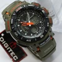 Jual Jam tangan Digitec DG-2044T Hijau Army Digitec 2044 Digitec DG-2044 Murah