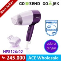 Hair Dryer - Essential Care PHILIPS HP 8126 - Hairdrayer - philip 400W