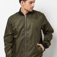 BLOOP JACKET BOMBER HOLDEN GREEN