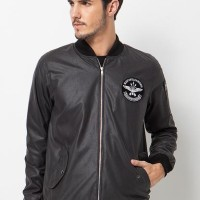 BLOOP JACKET BOMBER EZRA GREY