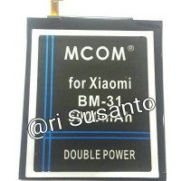 Baterai M-COM BM31 For Xiaomi Mi3 Double Power 5000mAh