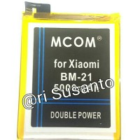 Baterai M-COM BM21 For Xiaomi Mi Note 5 Double Power 5000mAh