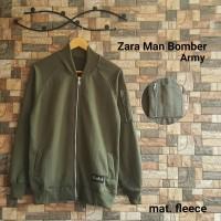 Jaket Zara Men Bomber Army  JAKET BOMBER JOKOWI  JAKET PRIA  JAKET