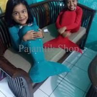 harga Promo Akhir Tahun baju kostum renang putri duyung mermaid lengan panja Tokopedia.com