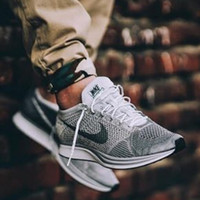 SNEAKERS NIKE FLYKNIT RACER *pure platinum