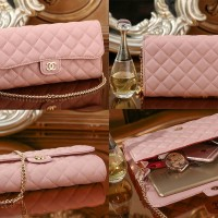 TAS wanita chanel Quilted Clutch