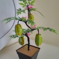 Buah Hias Belimbing / buah artificial / bunga hias