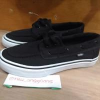 Sepatu Vans Zapato Japato Black White Hitam Putih Original Premium ICC