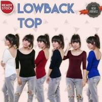 lowback top