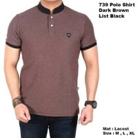Kaos Polo Shirt Pria