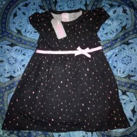 dress bobo pita hitam