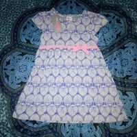dress bobo pita blue