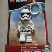 Lego Star Wars : First Order Stormtrooper ledlite keychain