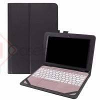Asus Transformer Book T101HA Leather Flip Case Cover Casing Sarung