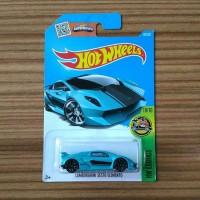 Hot Wheels Lamborghini Sesto Elemento Blue HW Exotics