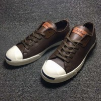 sepatu pria converse jack purcell low brown