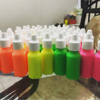 neon paint pewarna cat tinta warna slime diy