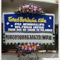 Bunga Papan Duka Cita Free Shipping Jakarta
