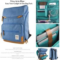 harga Viva Acio Gadget Bag Pack (tas Ransel Kamera , Laptop & Mac Book ) Tokopedia.com