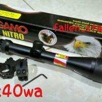 telescope gamo nitro 3-9x40 wa