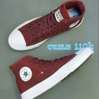 Sepatu Converse CT Tinggi | Converse CT High Top Maroon / Merah marun