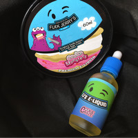 Fu(:k Jerry's Cookie Monsterz USA 60ml E Liquid Vape Vaping Vapor Enak