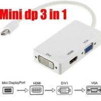apple macbook minidisplay port converter to vga hdmi dvi