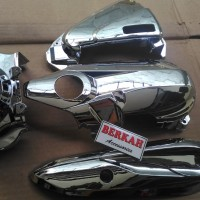 harga paket full set cover cvt beat esp beat pop esp & scoopy esp chroom Tokopedia.com