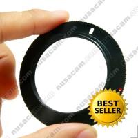 Adapter, Adaptor Lensa Mount M42 To, Untuk, Ke Kamera Nikon Dslr