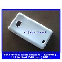 #1154 Silikon Case Smartfren Andromax U Soft Jelly Glossy Cover Putih