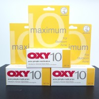 Oxy 10 - Acne Pimple Medication - For Stubborn Acne - 10gram